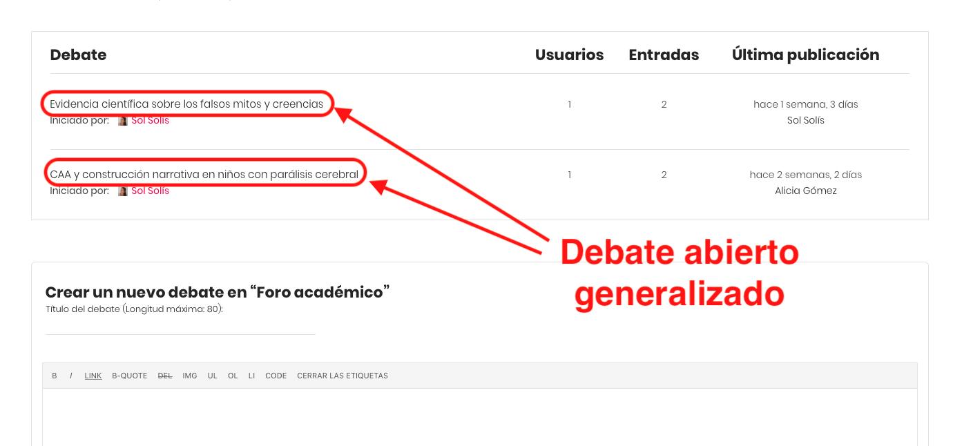 6.debate abierto generalizado