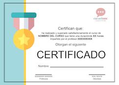 Diploma cursos eScuelAAC